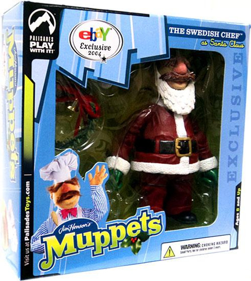 The Muppets Swedish Chef Exclusive Action Figure [Santa Suit]