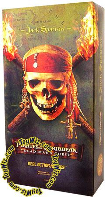 Pirates of the Caribbean Dead Man's Chest Jack Sparrow 12 Inch Action Figure