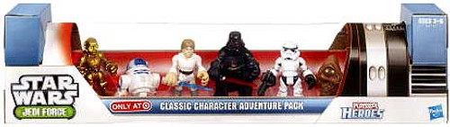 Star Wars Jedi Force Classic Character Adventure Pack Exclusive Mini Figure Set