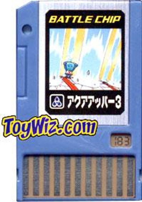 Capcom Mega Man Japanese PET Aqua Upper 3 Battle Chip #183