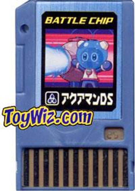 Capcom Mega Man Japanese PET AquaMan DS Battle Chip #253