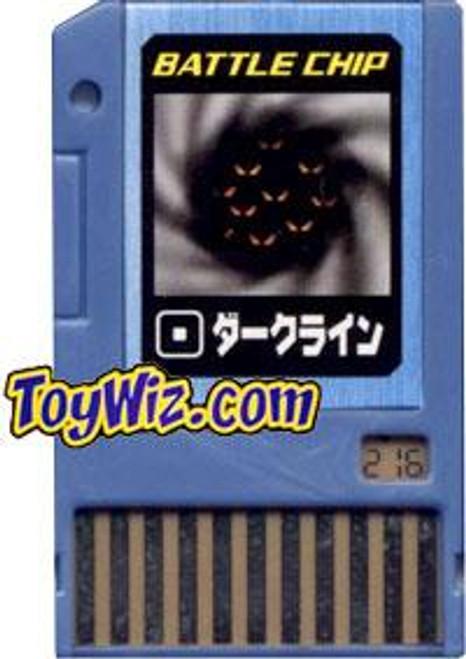 Capcom Mega Man Japanese PET Dark Line Battle Chip #216