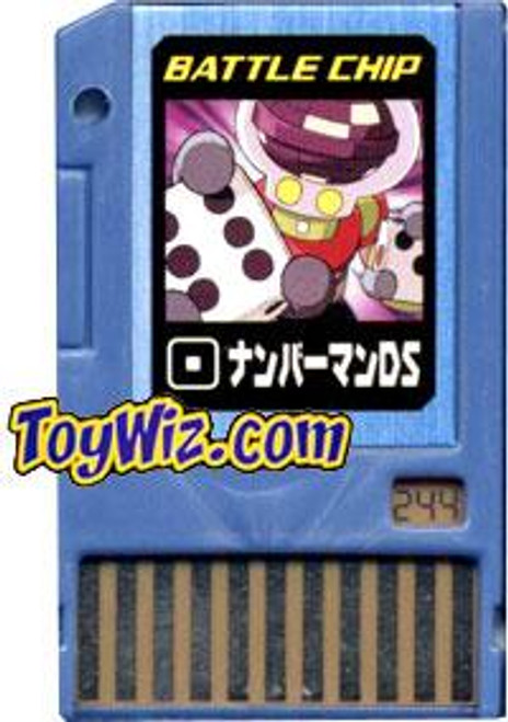 Capcom Mega Man Japanese PET NumberMan DS Battle Chip #244