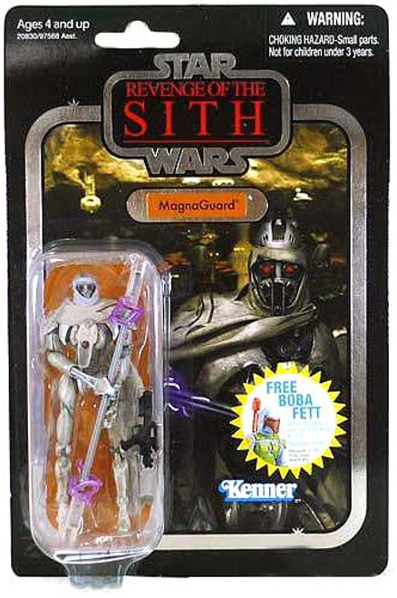 Star Wars Revenge of the Sith Vintage Collection 2010 MagnaGuard Action Figure #18 [Foil Card]