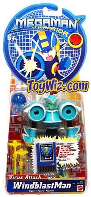 Mega Man NT Warrior Virus Attack WindblastMan Action Figure