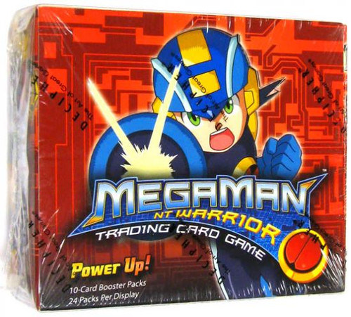 Mega Man NT Warrior Power Up! Booster Box
