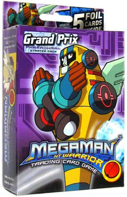Mega Man NT Warrior Grand Prix Pharaohman Starter Deck