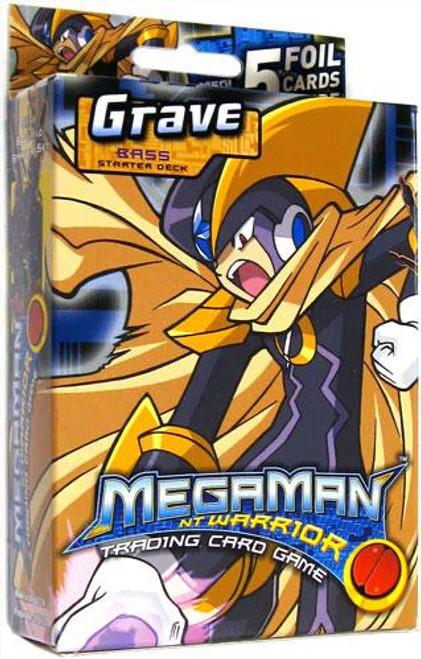 Mega Man NT Warrior Grave Bass Starter Deck