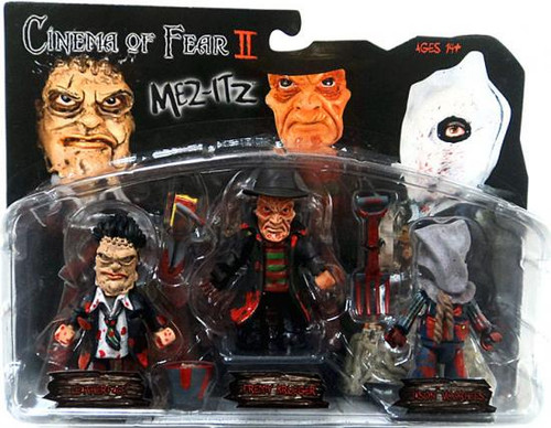 A Nightmare on Elm Street Cinema of Fear Series 2 Mini Figure 3-Pack