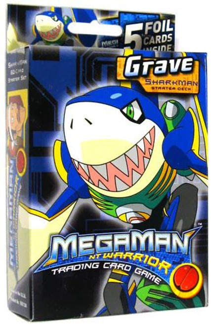 Mega Man NT Warrior Grave Sharkman Starter Deck