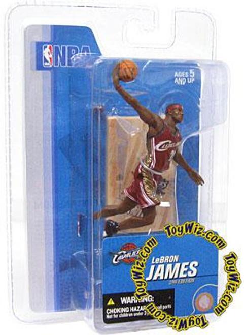 McFarlane Toys NBA Cleveland Cavaliers Sports Picks 3 Inch Mini Series 3 LeBron James Mini Figure