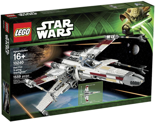 LEGO Star Wars A New Hope Red Five X-wing Starfighter Set #10240