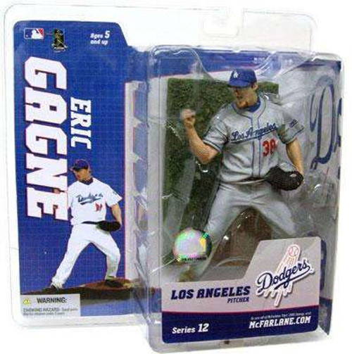McFarlane Toys MLB Los Angeles Dodgers Sports Picks Series 12 Eric Gagne Action Figure [Gray Jersey Variant]