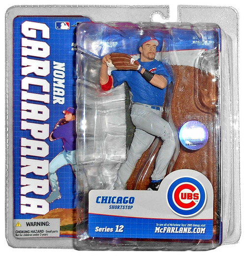 McFarlane Toys MLB Chicago Cubs Sports Picks Series 12 Nomar Garciaparra Action Figure [Blue Jersey]