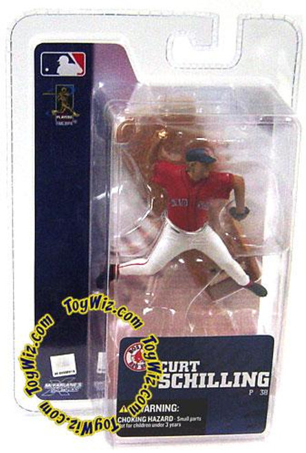 McFarlane Toys MLB Boston Red Sox Sports Picks 3 Inch Mini Series 4 Curt Schilling Exclusive Mini Figure