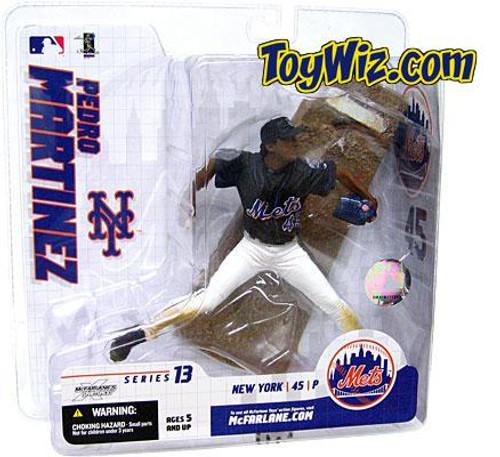 McFarlane Toys MLB New York Mets Sports Picks Series 13 Extended Pedro Martinez Action Figure [Blue Jersey]