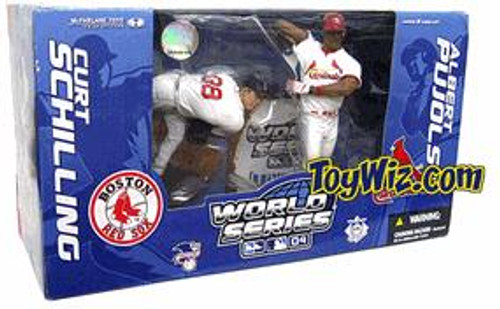 McFarlane Toys MLB Boston Red Sox Sports Picks Exclusive Curt Schilling Exclusive Action Figure 2-Pack