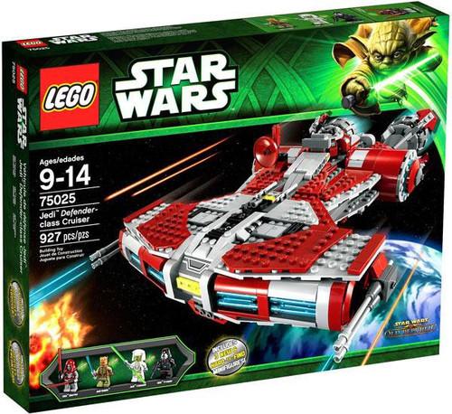 LEGO Star Wars The Clone Wars Jedi Defender Class Cruiser Set #75025