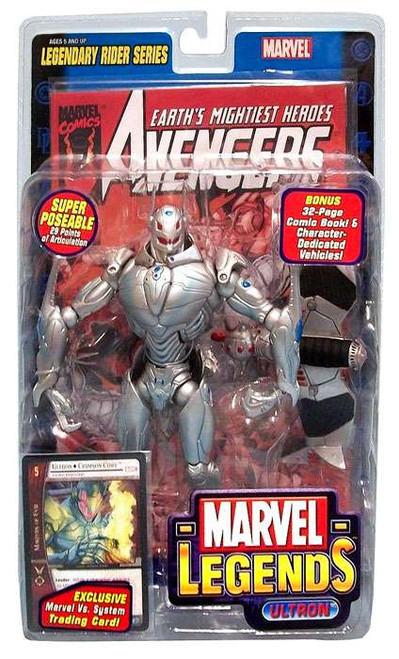 Marvel Legends Series 11 Legendary Riders Ultron Action Figure