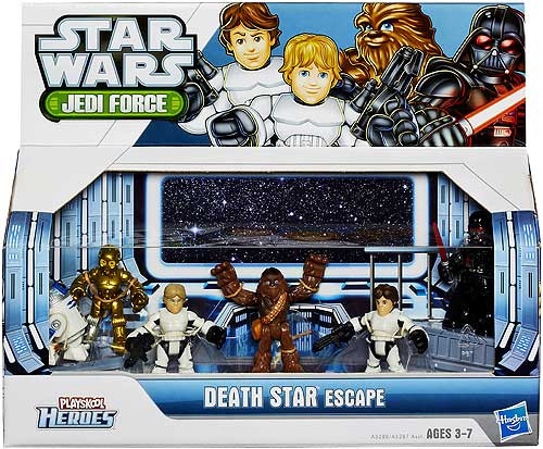 Star Wars A New Hope Jedi Force 2013 Death Star Escape Action Figure Set