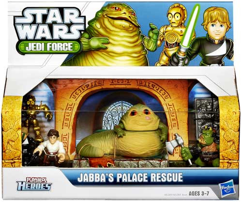 Star Wars Return of the Jedi Jedi Force 2013 Jabba Palace Rescue Action Figure Set