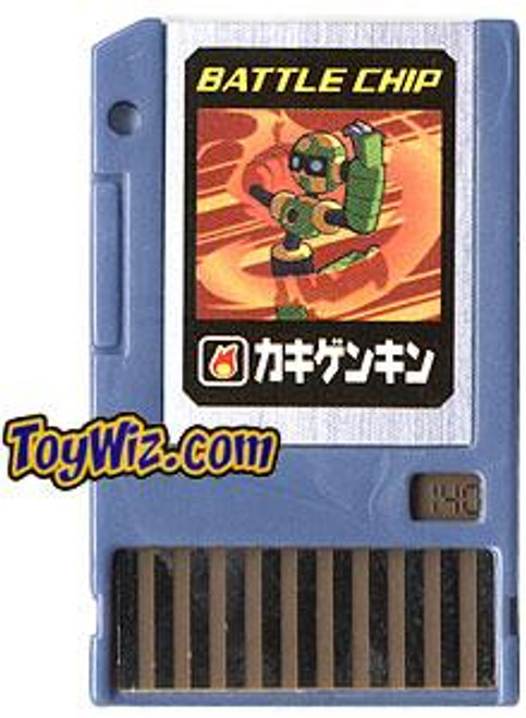 Capcom Mega Man Japanese PET Stone Barrier Battle Chip #140