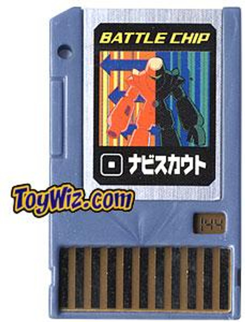 Capcom Mega Man Japanese PET Navi Scout Battle Chip #144