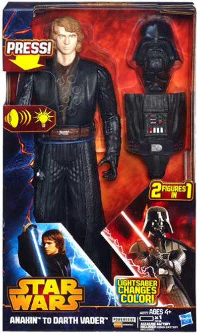 Star Wars Revenge of the Sith Anakin To Darth Vader 12 Inch Action Figure