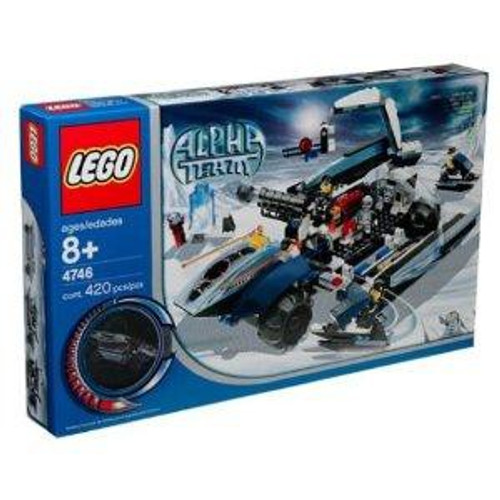 LEGO Alpha Team Mobile Command Center Set #4746