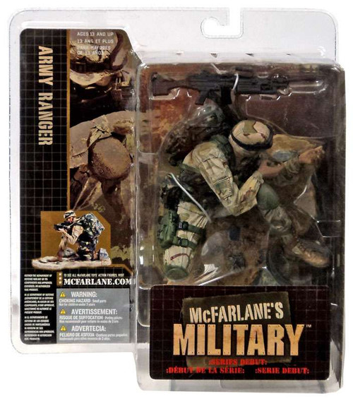 McFarlane Toys McFarlane's Military Series 1 Army Ranger Action Figure [Caucasian]