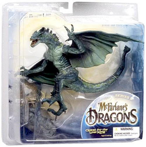 McFarlane Toys McFarlane's Dragons Quest for the Lost King Series 2 Berserker Clan Dragon 2 Action Figure