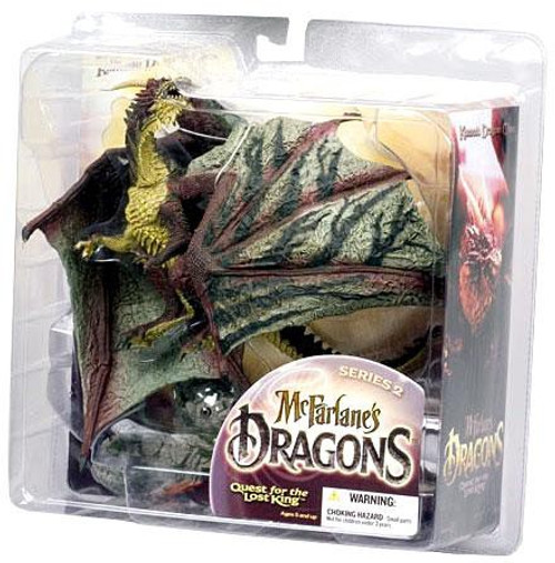McFarlane Toys McFarlane's Dragons Quest for the Lost King Series 2 Komodo Clan Dragon 2 Action Figure