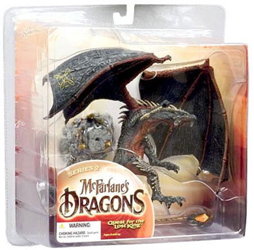 McFarlane Toys McFarlane's Dragons Quest for the Lost King Series 2 Sorcerers Clan Dragon 2 Action Figure