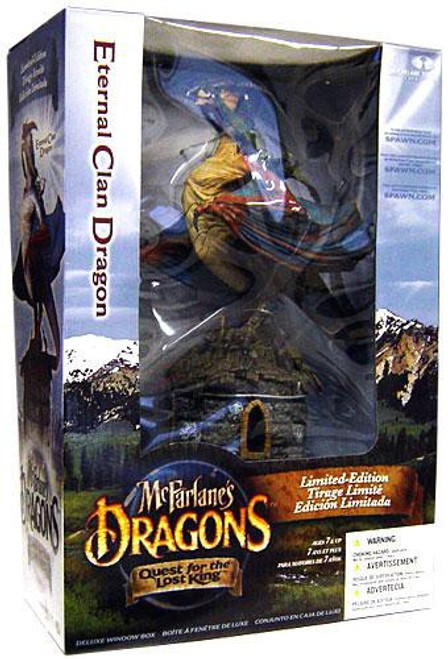 McFarlane Toys McFarlane's Dragons Quest for the Lost King Series 1 Eternal Clan Dragon Action Figure Set [Repaint]