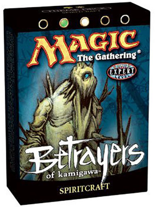 MtG Betrayers of Kamigawa Spiritcraft Theme Deck [Sealed Deck]