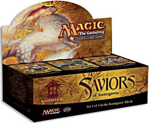 MtG Saviors of Kamigawa Booster Box [Sealed]