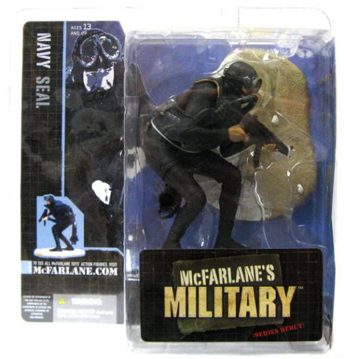 McFarlane Toys McFarlane's Military Series 1 Navy Seal Action Figure [Hispanic]