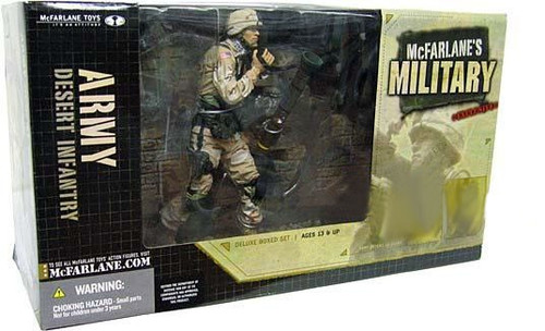 McFarlane Toys McFarlane's Military Series 1 Desert Infantry Action Figure [Random Ethnicity]