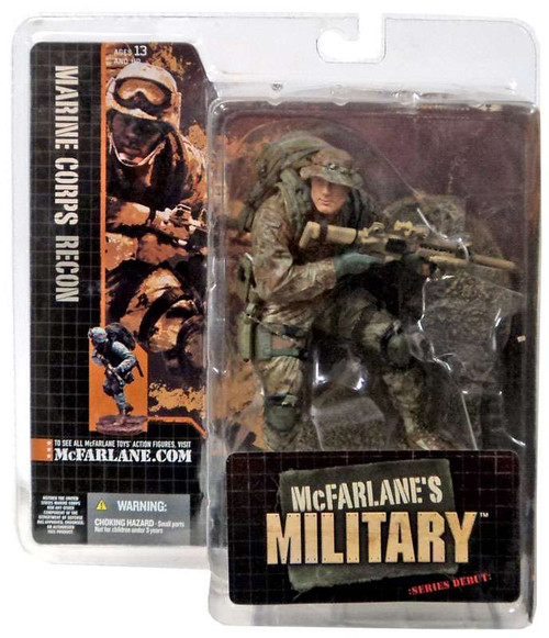 McFarlane Toys McFarlane's Military Series 1 Marine Corps Recon Soldier Action Figure [Caucasian]