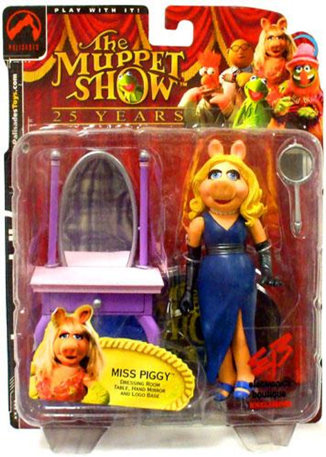 The Muppets The Muppet Show Miss Piggy Exclusive Action Figure [Blue Dress]