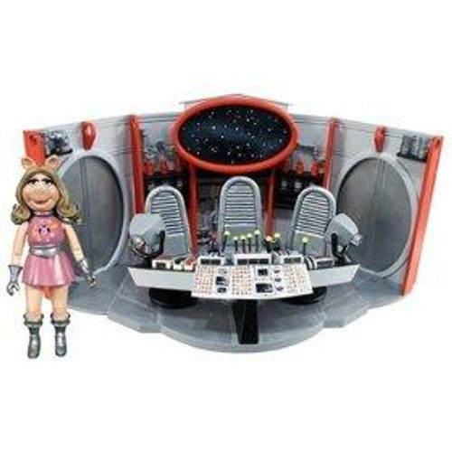 The Muppets Pigs in Space Swine Trek Exclusive Playset