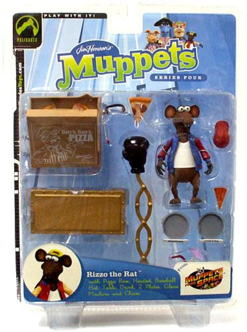 The Muppets Muppets in Space Series 4 Rizzo Action Figure [Blue Jacket Variant]