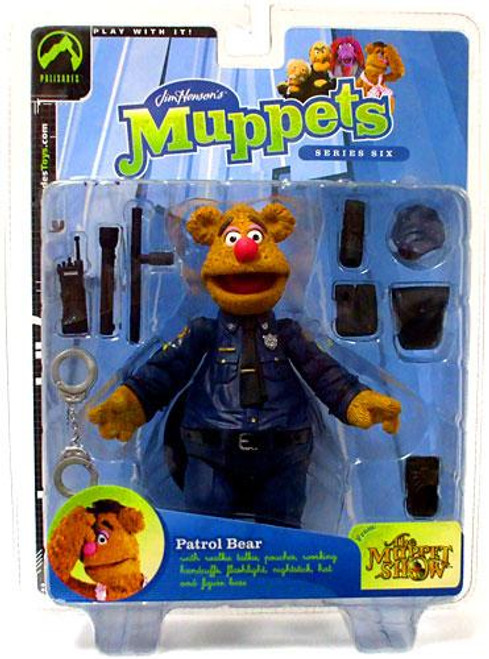 The Muppets Series 6 Fozzie Bear Action Figure [Patrol Bear]