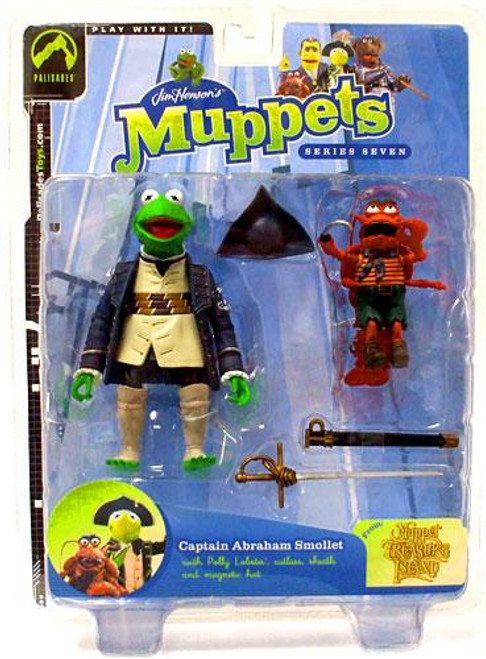 The Muppets Muppet Treasure Island Series 7 Kermit Action Figure [Captain Abraham Smollet]