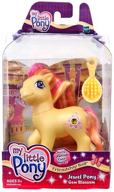 My Little Pony Friendship Ball Jewel Pony Gem Blossom Figure