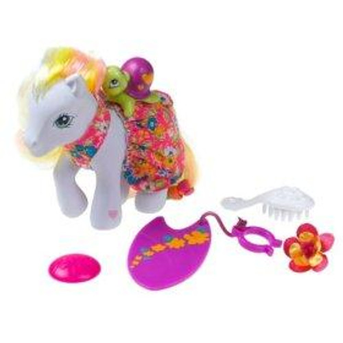 My Little Pony Butterfly Island Seaside Celebration with Golden Delicious Figure Set
