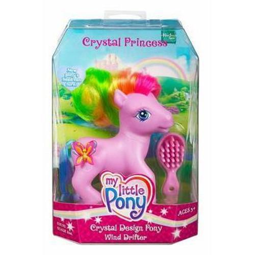 My Little Pony Crystal Princess Crystal Design Wind Drifter Figure
