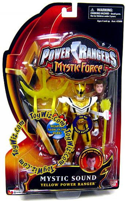 Power Rangers Mystic Force Mystic Sound Yellow Power Ranger Action Figure