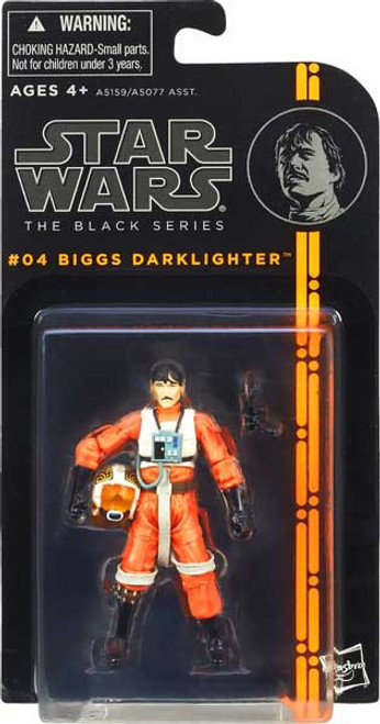 Star Wars A New Hope Black Series Wave 1 Biggs Darklighter Action Figure #04