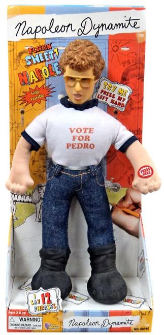 "Talking Napoleon Dynamite 12-Inch Plush Doll [""Vote for Pedro"" T-Shirt]"